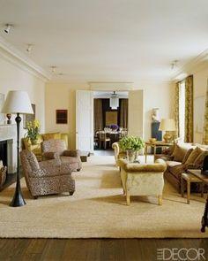 Home of Aerin Lauder. Design by Jacques Grange.