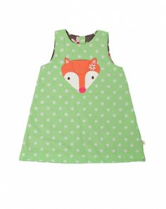 Fox Reversible Pinafore Dress