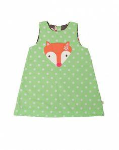Fox Reversible Pinafore Dress