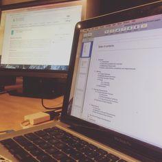 Finishing up work had a long day writing a market analysis summary for a project I'm currently working on #developer Lots to get done still! #technology #programmer #code #work #js #html #css #python #php #nodejs #ajax #jquery #java #angularjs #webdev #online #seo #marketing #website #analytics #keyword #traffic #digitalmarketing #development #software #webdeveloper #desk #setup
