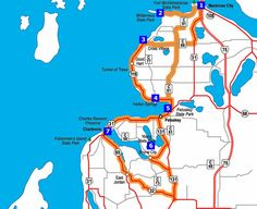 Mackinaw City - Petoskey - Charlevoix  road trip... Tunnel of Trees, 20 miles to Harbor Springs