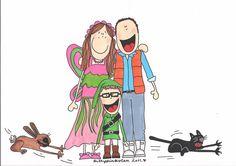 Family custom doodle | Flickr - Photo Sharing!
