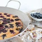 Heidelbeer-Pfannkuchen aus dem Ofen – Ofenpfannkuchen