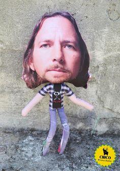 Eddie Vedder by Circo diseños! #PearlJam