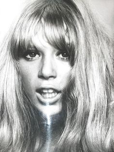 "Pattie Boyd... forever cool. Inspiration for songs by Harrison, ""Something"", ""I Need You"", ""Isn't It a Pity"", ""For You Blue"" & Clapton's ""Layla"", ""Wonderful Tonight"" & ""Bell Bottom Blues"""