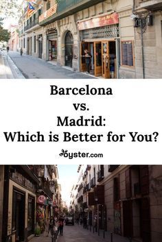 We love both of Spain's two largest cities -- Madrid and Barcelona -- that doesn't mean that everyone agrees on which city is better. In fact, just mentioning one city to residents of the other is enough to provoke an argument -- and plenty of visitors are equally as passionate. #Spain #Barcelona #Madrid #Europe #bucketlist #wanderlust #traveltips