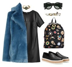 """""""Sablier"""" by zeineb-ayachi ❤ liked on Polyvore featuring Moschino, Miu Miu, Chanel, Karen Walker, MICHAEL Michael Kors and maurices"""