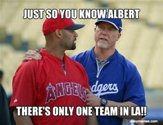 JUST SO YOU KNOW ALBERT THERE'S ONLY ONE TEAM IN LA!! | Def NOT The Angels!!!!!