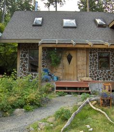 Love the door Cordwood Homes