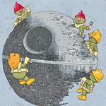 Fraggle Rock and Star Wars--gotta love it!