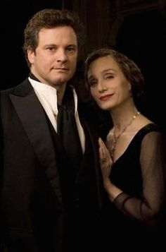 Colin Firth and Kristin Scott Thomas in Easy Virtue