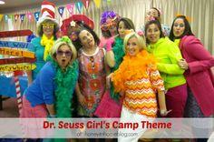 A Dr. Seuss Girl's Camp Theme: Honey I'm Home
