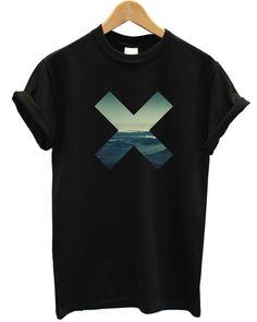 Mountain X T Shirt Top Cross Xx View Top Men Man Women Kid Brand Coexist Indie