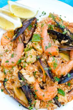 Arroz de Marisco - Portuguese Seafood Rice - how to make this famous Portuguese dish using anchovies