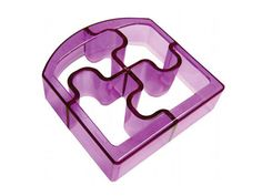 Sandwich Cutters Puzzle Bites Translucent in Purple for Talon's school lunches Bento Box Lunch, Lunch Snacks, Camp Snacks, Box Lunches, Kid Snacks, Lunch Boxes, Sandwich Cutters, Baking Supply Store, Little Lunch