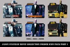 Jason Statham Movie Collection Folder Icon Pack Part 1 Homefront Hummingbird Wild Card The following file formats are included:PNG | ICO | ICNS