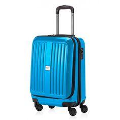 X-Berg - Handgepäck Hartschale Cyanblau glänzend, TSA, 55 cm, 42 Liter - Blaue #Reisetrolleys von #Hauptstadtkoffer.  #Hartschalenkoffer #Handgepäck #Cabinsize #Boardtrolley #blau #Rollkoffer #Trolley #Koffer #Travel #Luggage #Reisen #Urlaub #blue #bleu => mehr blaue #Reisekoffer: https://hauptstadtkoffer.de/de/reisegepack/alle-produkte