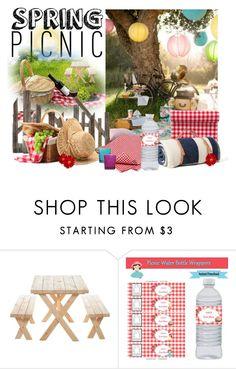 """Spring picnic"" by lenaick on Polyvore featuring interior, interiors, interior design, hogar, home decor, interior decorating y springpicnic"