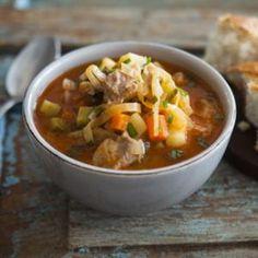 Густой+овощной+суп+в+мультиварке.+Пошаговый+рецепт+с+фото+на+Gastronom.ru