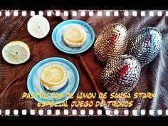 la cocina facil de lara: Pastelitos de limón de Sansa Stark.(Especial juego de tronos)