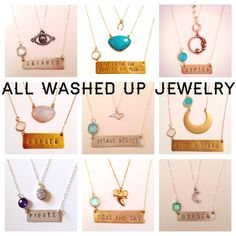 All washed up jewelry photo shoot on pinterest nameplate for All washed up jewelry