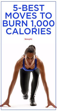 5 Best Moves to Burn 1000 Calories
