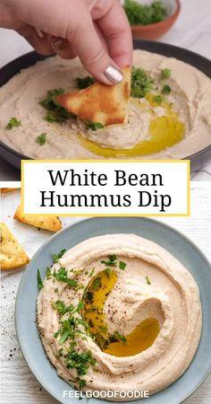 Healthy Recipe Videos, Easy Healthy Recipes, Healthy Snacks, Easy Meals, Ninja Blender Hummus Recipe, Simple Hummus Recipe, Humus Recipe Easy, Tahini Free Hummus Recipe, Classic Hummus Recipe