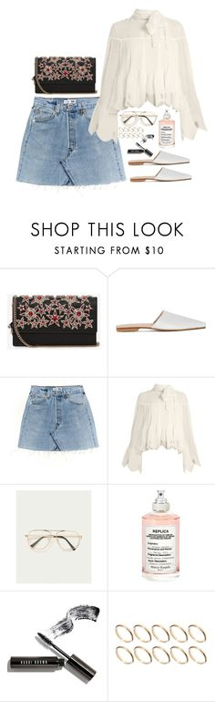"""""""Untitled #1919"""" by samikayy76 ❤ liked on Polyvore featuring Alexander McQueen, Brother Vellies, See by Chloé, Maison Margiela, Bobbi Brown Cosmetics and ASOS"""