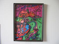 Mushroom Forest - Clear Dementia - Brendan Aaron Cyr's Clear Dementia Online Album, Dementia, Mushroom, Piano, Painting, Art, Art Background, Painting Art, Paintings