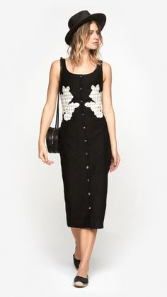 Express your inner city gal with a Carven maxi. | Click to shop luxe gifts for her.