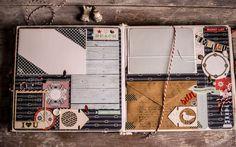 Купить Морской Альбом для малыша) - темно-синий, морской стиль, Скрапбукинг, скрап декор