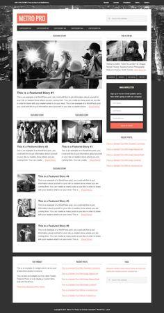Metro Pro WordPress Theme - StudioPress