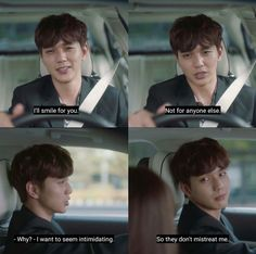 Poor guy, so alone. Yo Seung Ho, Robot, The Man Who Laughs, Blind Girl, Web Drama, Weightlifting Fairy Kim Bok Joo, Sleep Deprivation, Silent Film, Going Crazy