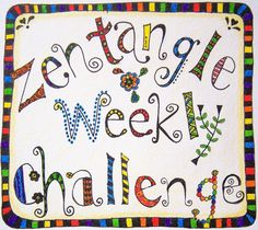 Zentangle Weekly Challenge starts Monday March 24th.  A free opportunity to practice and share a new drawing technique each week without the commitment of taking a class.  For more info visit http://madebyjoey.blogspot.ca/2014/03/new-zentangle-weekly-challenge-and-link.html