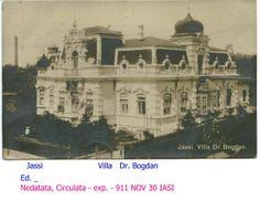 Villa Dr. Bogdan, 1911, Iasi, Romania Romania, Taj Mahal, Survival, Villa, Pictures, Travel, Beauty, Photos, Viajes