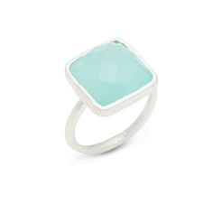The Clara Silver Ring is constructed of delicate sterling silver and solitaire semi-precious stone. This timeless combination will never go out of style.$48