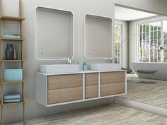 Fantastiche immagini su mobili bagno doppio lavabo nel