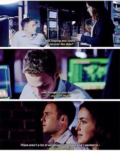 Finishing eachother sentences... Classic Fitzsimmons