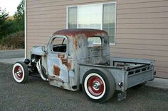 Pick up rat rod.