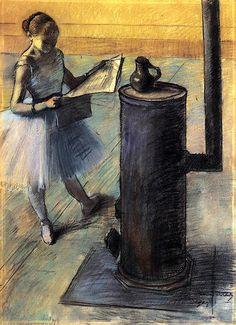 Degas, Dancer Resting