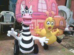 JASA PEMBUATAN BOOTH DISPLAY PAMERAN JAKARTA: STYROFOAM 3d ART KID decoration  creator mulyadi  ...