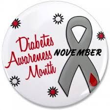 Raising Crazy Things. : Diabetes Awareness Month