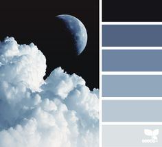 Color Palette • Shades Of Gray