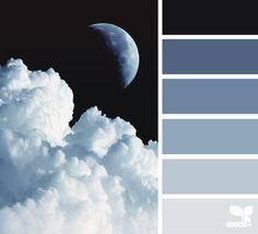 Blue | Black > Bathroom colors