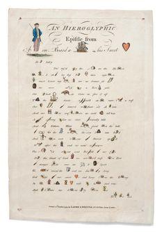 Simon Beattie: Rare books, manuscripts, music, ephemera This week, a bit of fun. Can you solve these 18th-century rhymed rebuses? http://www.simonbeattie.kattare.com/blog/archives/595