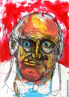 Aleister Crowley, Thing 1, Sacred Geometry, Occult, Magick, Surrealism, Masters, Abstract Art, Illustration Art