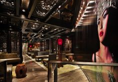 Modern Nightclub Design: Dragonfly Nightclub by Munge Leung