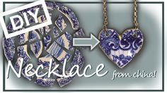There are some creative ways to repurpose broken china into something useful and beautiful. Check out Broken China Craft Project Ideas and get inspired! Broken China Crafts, Broken China Jewelry, Jewelry Crafts, Jewelry Art, Handmade Jewelry, Fashion Jewelry, Jade Jewelry, Jewelry Ideas, Diy Jewellery Dish
