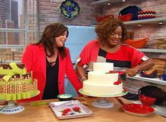 Sunny Anderson's Coconut Frosting, you can add Pina Colada and pineapple chunks with rum and real coconut flakes.