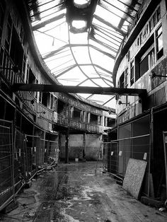north street arcade belfast Dead Malls: 9 Abandoned Arcades, Markets and Shopping Centres Abandoned Malls, Abandoned Amusement Parks, Abandoned Buildings, Abandoned Places, Fire Photography, Building Photography, Dead Malls, Belfast Northern Ireland, Belfast City